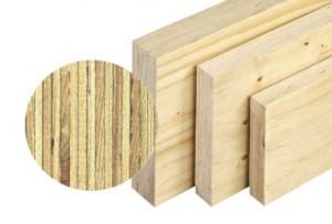 Les mat riaux bois dans la construction - Panneau lamelle colle ...