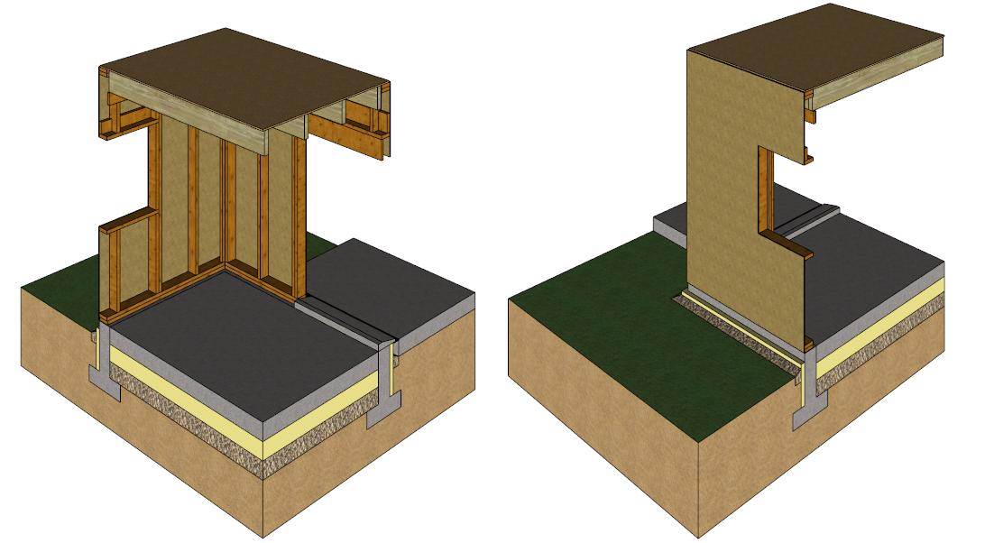 Pose d 39 un plancher bois - Espacement solive plancher bois ...
